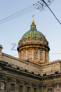 Dome of the Kazan Cathedral