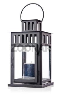 Old lantern in vintage concept