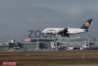 A 380 Frankfurt Airport