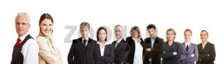 Gruppe von erfolgreichen Anwälten und Geschäftsleuten