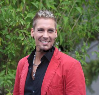 Sänger Norman Langen bei 'immer wieder sonntags' 07.07.2013 im Europapark Rust