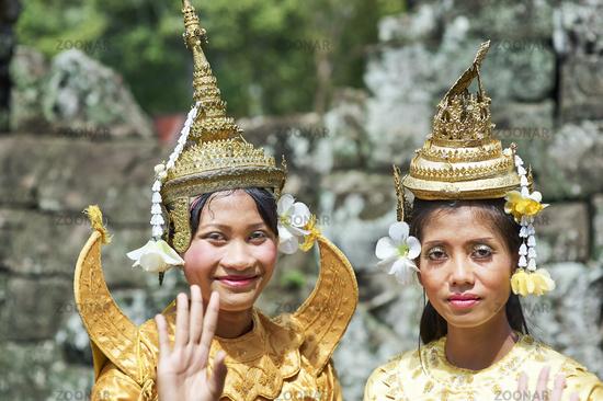 Angkor Thom Temple. Siem Reap. Cambodia