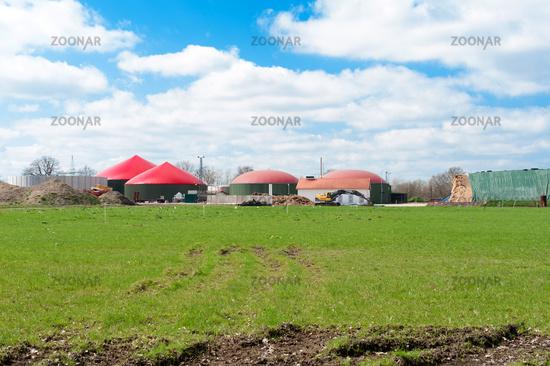 Biogas plant - biogas