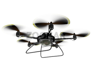 Isolated Spy Drone