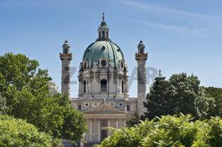Karlskirche Wien   St. Charles's Church, Vienna