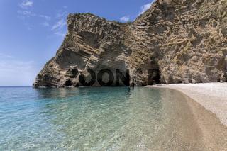 Paradise Beach Nähe Paleokastritsa, Korfu