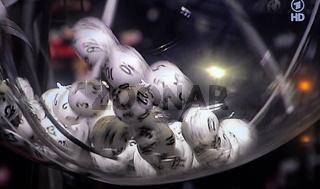 Ziehung der Lottozahlen