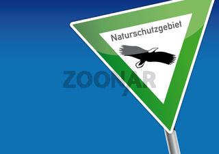 Naturschutzgebiet, Schild, Artenschutz, Naturschutz