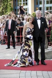 Eroeffnung der Richard Wagner Festspiele 2012