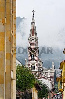Kirche El Carmen, Candelaria, Bogotá, Kolumbien
