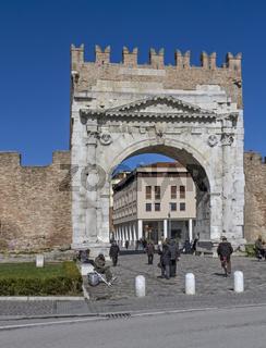 Arco di Augusto in Rimini