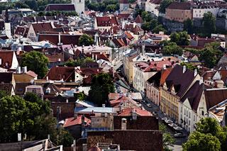Old Tallinn cityscape
