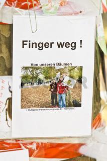 finger weg !, schlossgarten, stuttgart, parkschuetzer,    b hoernchen, hands off !, park ptotectors, schlossgarten, stuttgart