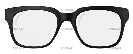 Retro Black Framed Glasses