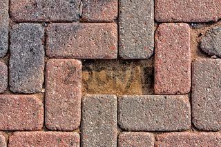 Missing Cobblestone Brick