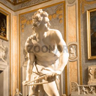 Bernini Statue: David