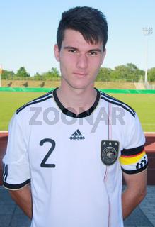 Robin Yalcin (U18-DFB) U18-Fußballländerspiel Deutschland-Russland, 24.5.12 in Eilenburg