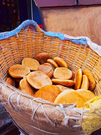 Traditional Moroccan Bread