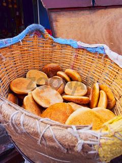 Traditional Moroccan Bread