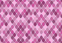 Diamond Pattern in Purple Tones