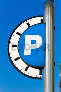 Parkgebühr für Parkplatz