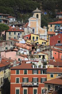 Lerici, Hafenstadt an der Ostseite des Golf von La Spezia