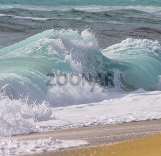 Strand mit Wellen - beach with waves 11