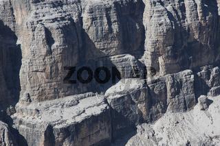Felsenformationen, Dolomiten, Italien