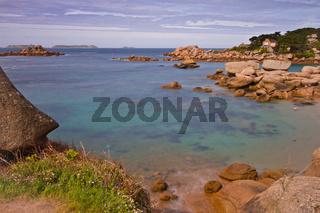 Strand von Ploumanach an der Cote de Granit Rose