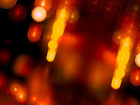 Abstract factual blurred background of golden hue holiday theme