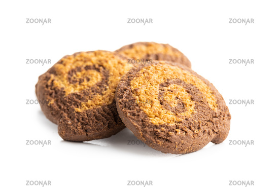 Sweet chocolate biscuits.