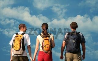 Three teens