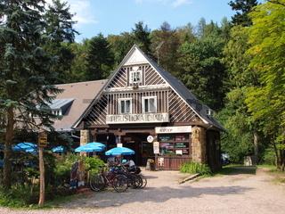 Touristenstation bei Prachauer Felsen