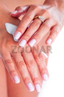 Cream for hand care