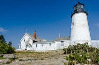 Pemaquid Point Light, Bristol, Lincoln County, Maine, New England, USA, North America