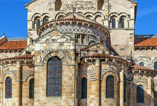 Former Benedictine abbey church, Issoire, France