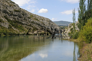 Reservoir of the Noguera Ribagorzana river