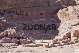Amphitheater, Petra, Jordanien