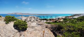 'La Pelosa' - 'Golf der Asinara' - Sardinien