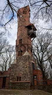 Bismarck tower (Bismarckturm) in Bad Freienwalde. Germany A Bismarck tower is a specific type of monument built to honor its first chancellor