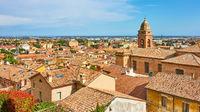 Old italian town Santarcangelo di Romagna