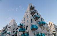 Modern residential building Iceberg in Aarhus, Denmark