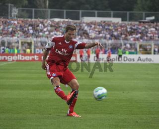 deutscher Fußballer Dennis Diekmeier Hamburger SV DFB DFL 1.Fussball-Bundesliga Saison 2013-14
