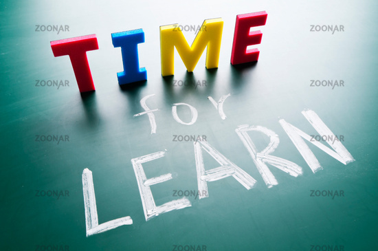 Time for learn