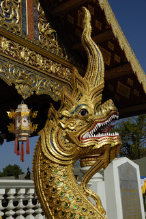 Naga at Wat Phra Singh in Chiang Mai