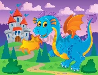 Dragon theme image 5 - picture illustration.