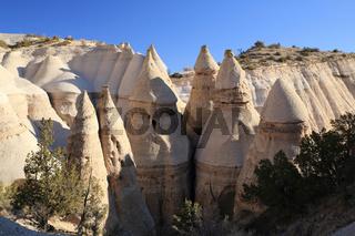 Kasha-Katuwe Tent Rocks, New Mexico, USA