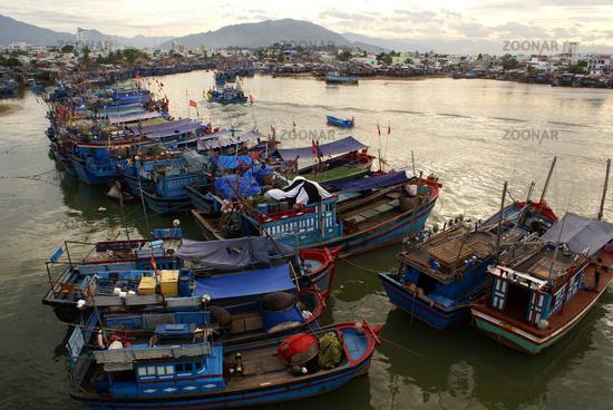 Boats in Nha Trang