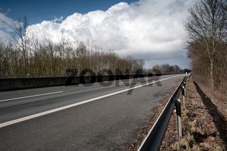 Autobahn ohne Autos