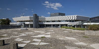 Forum, town hall and cultural center, Leverkusen, North Rhine-Westphalia, Germany, Europe